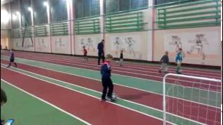 Тренировка ведения мяча дети  4 - 5 - 6 лет   Training dribbling skills for kids 4-5-6 years old