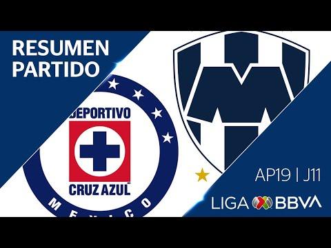 Resumen y Goles   Cruz Azul vs Monterrey   Jornada 11 - Apertura 2019   Liga BBVA MX