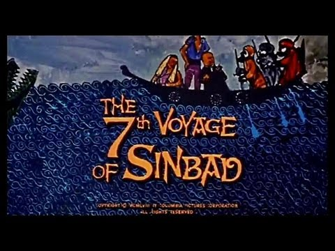 """""""THE 7th VOYAGE of SINBAD""""  music by BERNARD HERRMANN / This Is Dynamation ~ 1958"""