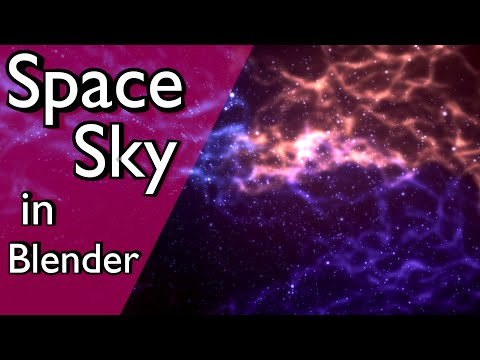 How to Create a Space Scene in Blender