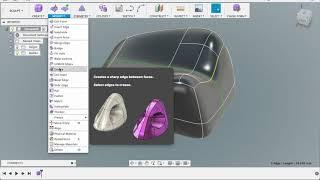 Уроки Fusion 360: Скульптинг /  Learn to Sculpting