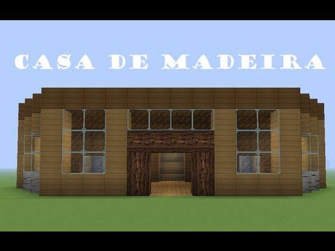 Minecraft tutoriais como construir uma casa de madeira - Casas para construir ...