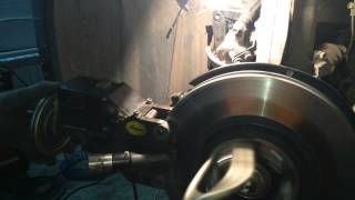 Проточка тормозных дисков Honda Accord 8