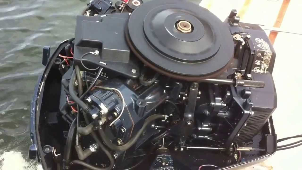 Evinrude 140HP 2x Stroke Cutting out  YouTube