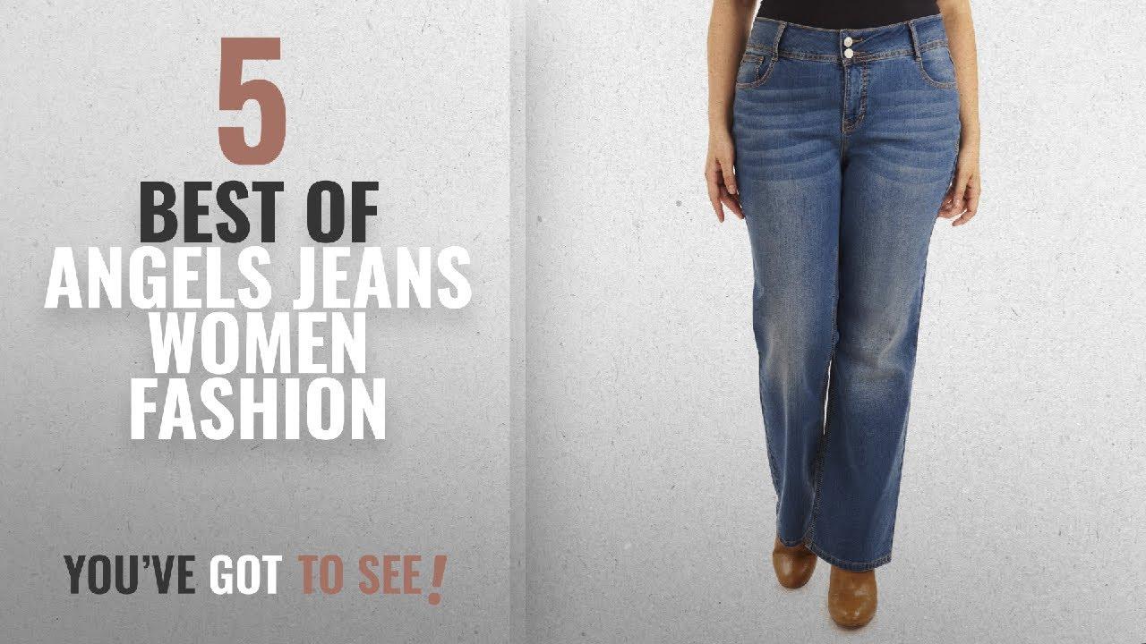61e2e3d4fe0 Angels Jeans Women Fashion [2018 Best Sellers]: Angels Jeans Women's Plus  Size Curvy Bootcut Jean,