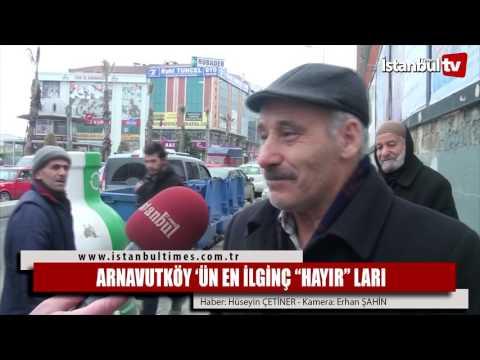 """ARNAVUTKÖY 'ÜN EN İLGİNÇ """"HAYIR"""" LARI"""