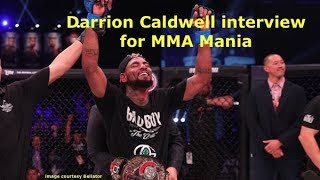 Darrion Caldwell Interview Before Leandro Higo at Bellator 195