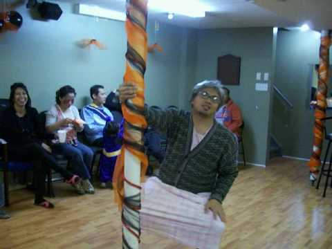 Granny Pole Dancing