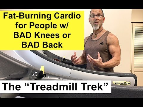 Best Fat-Burning Cardio Workout with Bad Knees or Bad Back: