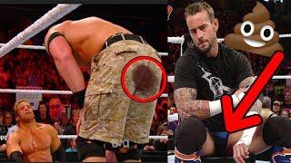 Top 10 Luchadores Que Se Hicieron CACA En El Ring WWE
