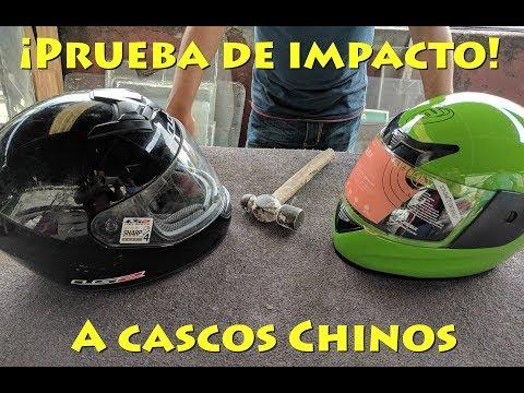 Prueba de impacto a cascos Chinos - MotoVlog en Español