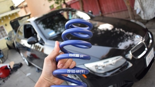 BMW E92 Rear Springs Installation/ H&R
