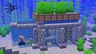 как сделать в майнкрафте подводный дом