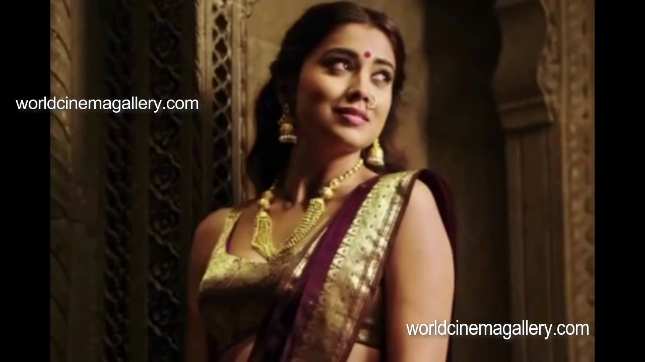 Shriya saran sexy saree