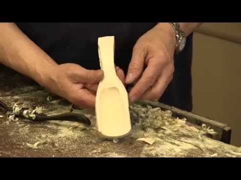 Carving a Wooden Scoop | Paul Sellers