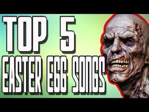 """TOP 5 Zombie Easter Egg Songs in """"Call of Duty Zombies"""" Black Ops 2 Zombies BO1 and WAW Zombies"""
