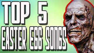 "TOP 5 Zombie Easter Egg Songs in ""Call of Duty Zombies"" Black Ops 2 Zombies BO1 and WAW Zombies"