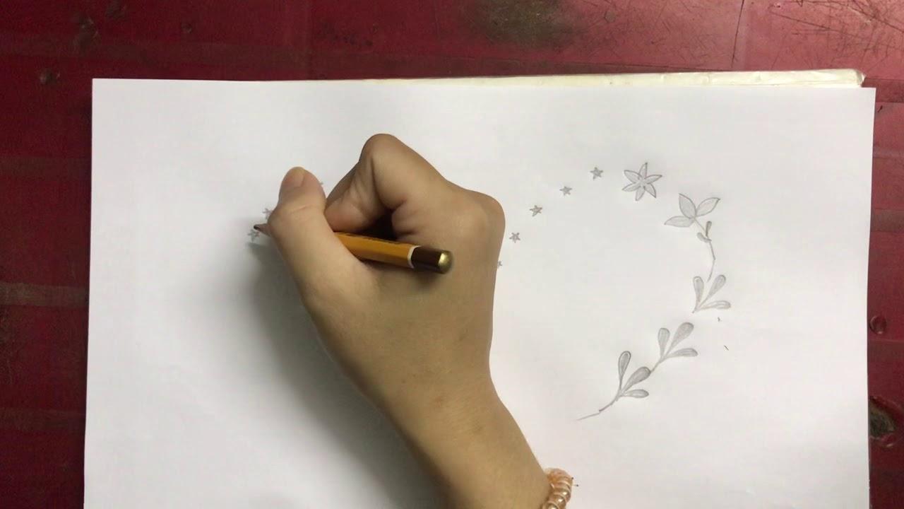 Tranh vẽ tường hình trái tim