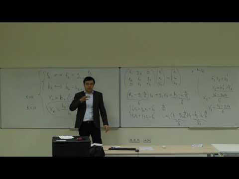 Computational Physics Lecture 12, Special Matrices and Gauss-Seidel
