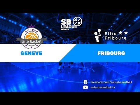 SB League Women - Day 4: Genève vs. Fribourg