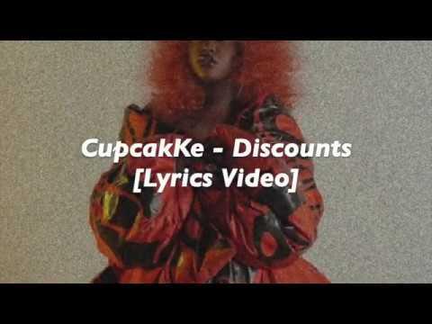 CupcakKe - Discounts (Lyrics Video)