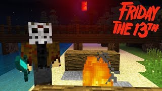 Do NOT Go to Camp Crystal Lake in Minecraft PE on FRIDAY the 13th at 3AM!!!