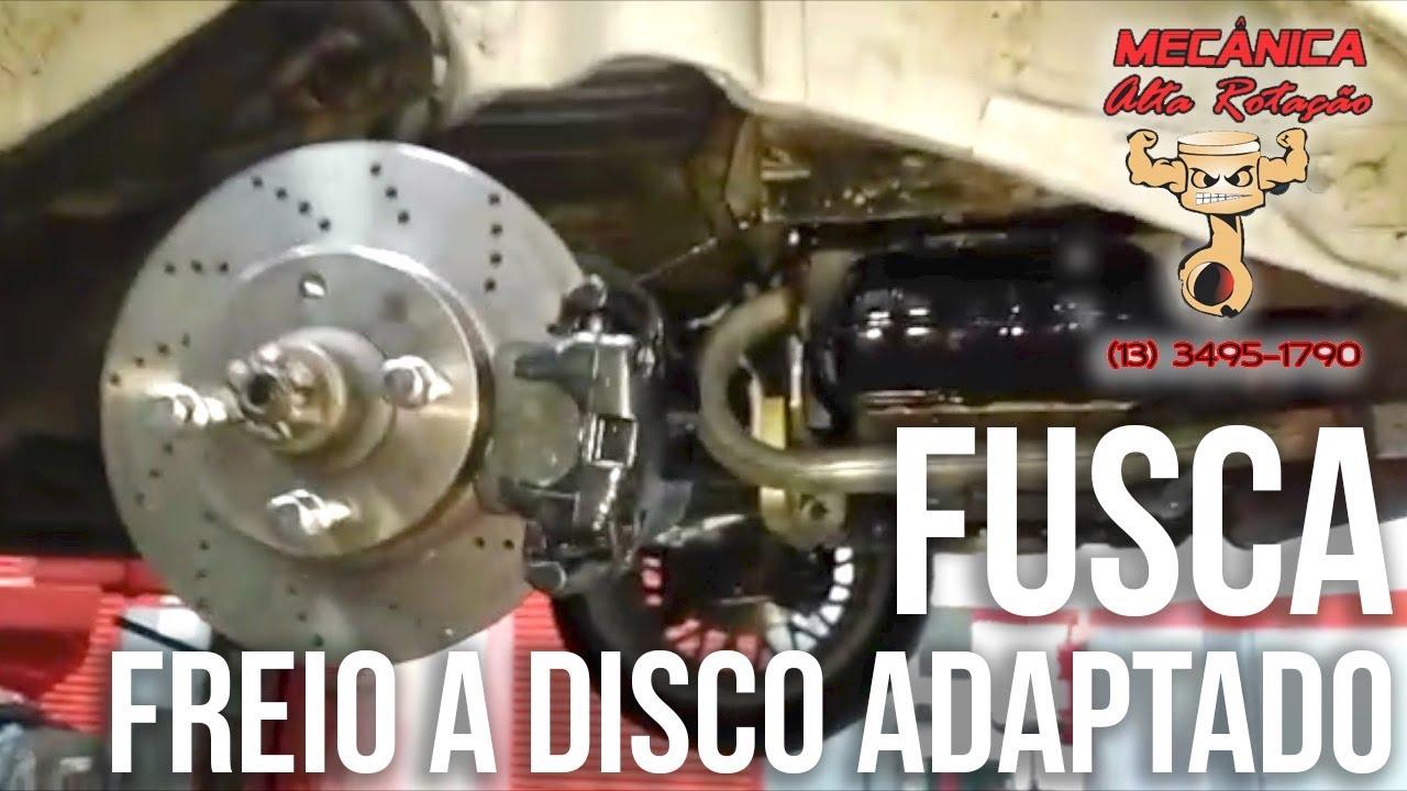 ADAPTACAO FUSCA FREIO A DISCO