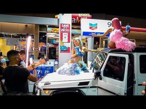 Beverly Hills Gone Wild: Nikita Dragun & Saweetie Takes Over Rodeo Drive