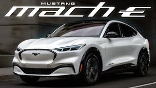 ELECTRIC MUSTANG SUV! 2021 Ford Mustang Mach-E Review