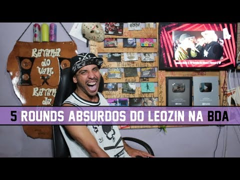 5 ROUNDS ABSURDOS DO LEOZIN NA BDA | Tags BDA |