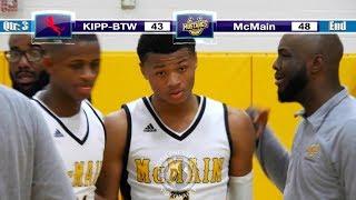 McMain vs. KIPP-Booker. T Washington (Highlights) - Season Opener Decided by Layup in Final Seconds