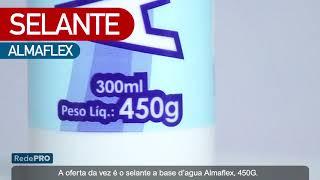 Oferta Imbatível - Selante Acrílico Base D'Água Branco - Almaflex