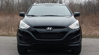 2010 Hyundai Tucson Review (Start Up, In Depth Tour, Exhaust, Engine)