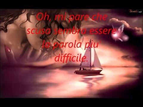 Elton John - Sorry Seems To Be The Hardes Word . Traduzione in italiano -Video di Paola Marcato
