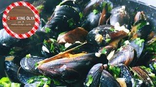 Мидии в сливочно-чесночном соусе ★ Простые рецепты от CookingOlya