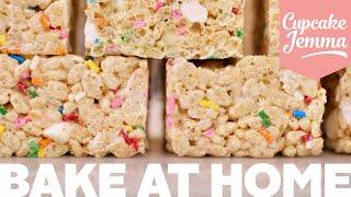 Bake at Home | Rice Krispie Squares | Cupcake Jemma