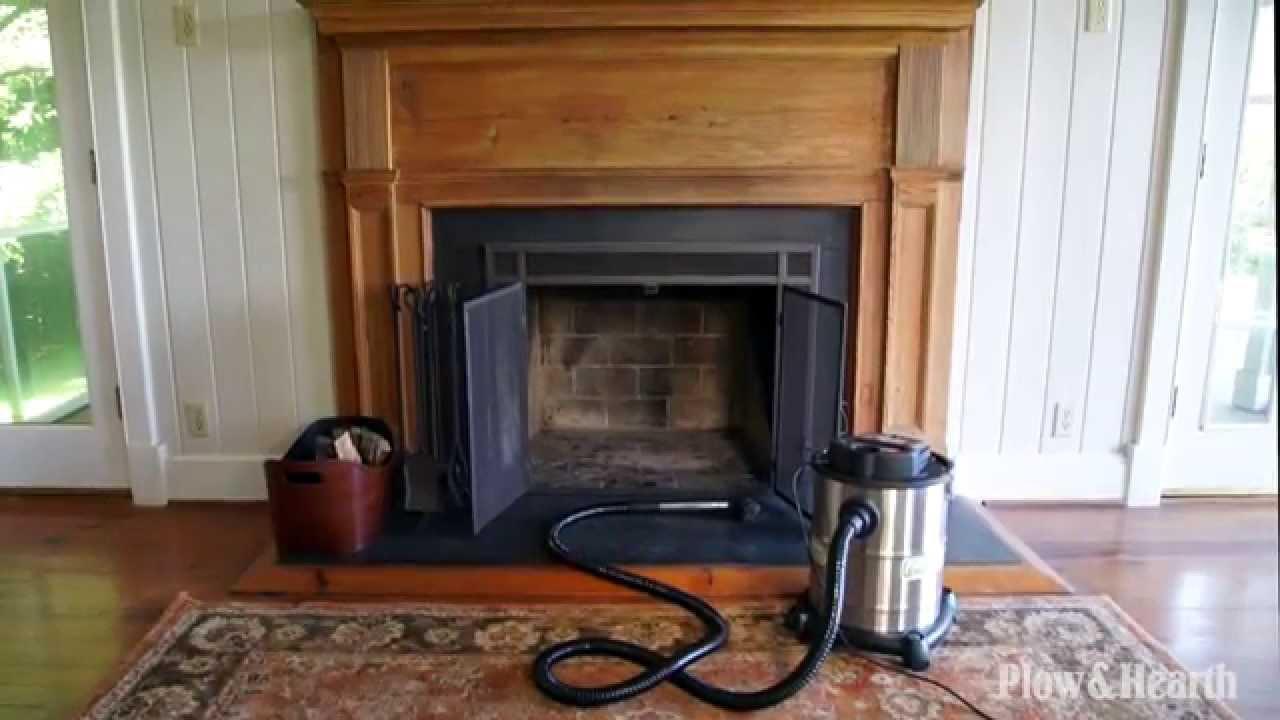 fireplace warm ash vacuum sku 13997 plow u0026 hearth youtube
