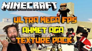 AHMET AGA TEXTURE PACK! - Minecraft ULTRA MEGA FPS Default PVP Texture Pack (1.7.X 1.8.X)