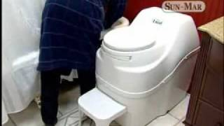 Sun-mar Composting Toilets - No Water! No Plumbing Connections Needed! No Oder!