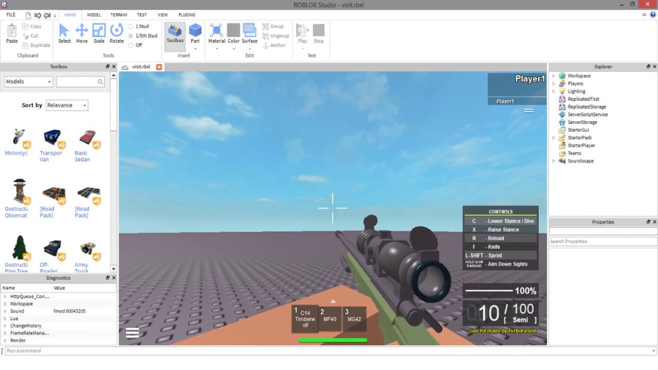 Roblox How To Create Weapons | Roblox Generator Pro