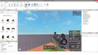 How to make the best gun on roblox 2017 - 2018