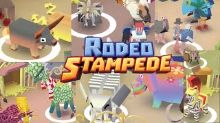 Rodeo Stampede ALL ANIMALS Captured! (Savannah Area) iOS, Android