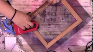 DIY a deckle for paper making
