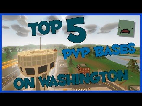 Unturned Top 5 PvP Base Locations on Washington