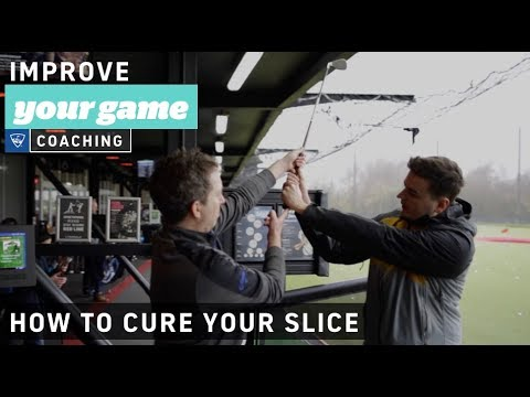 How to cure a slice - Golf Lessons with Topgolf