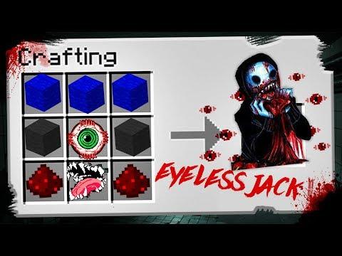 SỰ THẬT VỀ EYELESS JACK  !!! (Minecraft phòng thí nghiệm )