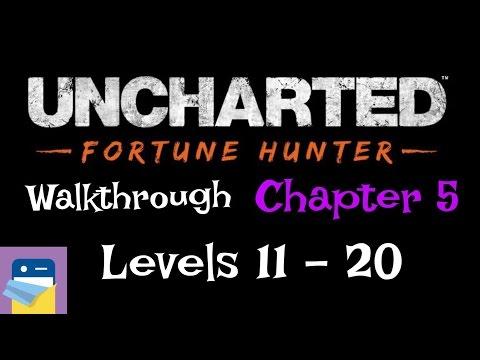 Uncharted Fortune Hunter: Walkthrough King Toera's Golden Tortoise Levels 11 - 20 (Chapter 5)