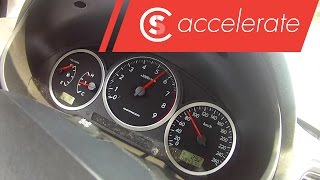 Let's find out how fast an Subaru Impreza WRX accelerates form 0 to...