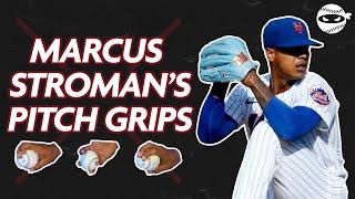 MARCUS STROMAN REVEALS HÏS PITCH GRIPS | PitchingNinja