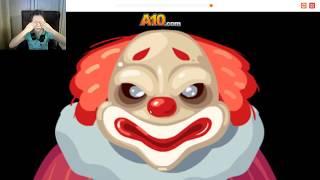 Летсплей игры 7 ночей с клоунами и Вормейт Ио